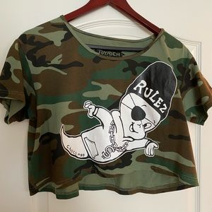 Joyrich x chocomoo tank top camo